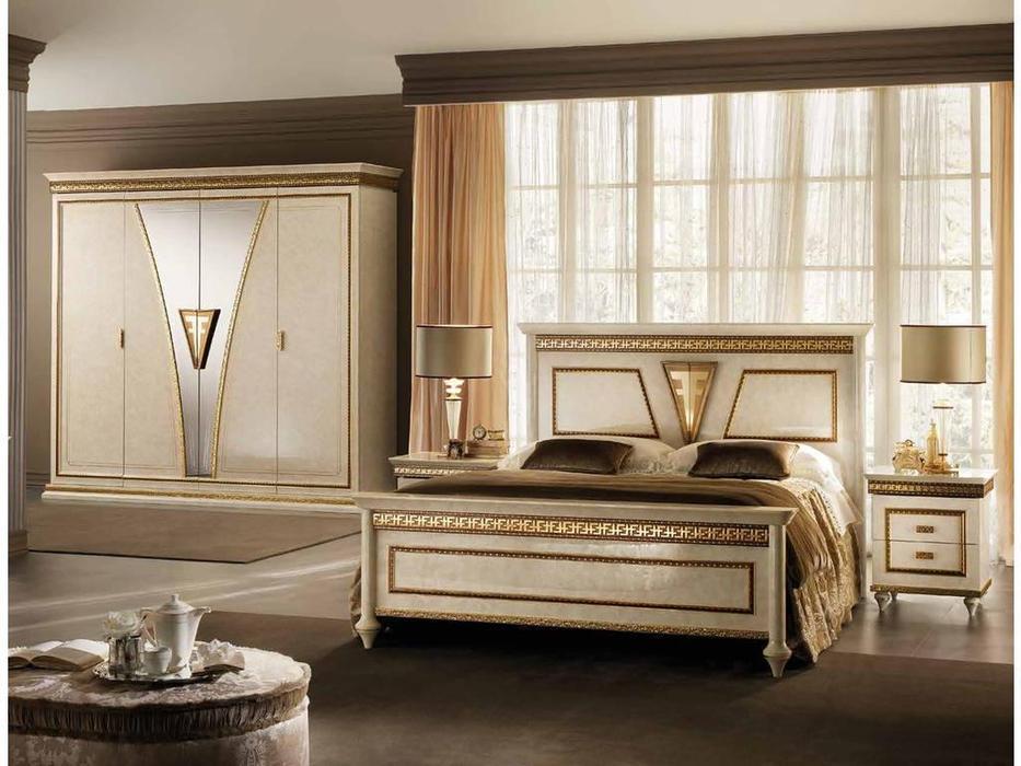 Arredo Classic: Fantasia: кровать 180х200  (кремовый мраморный)