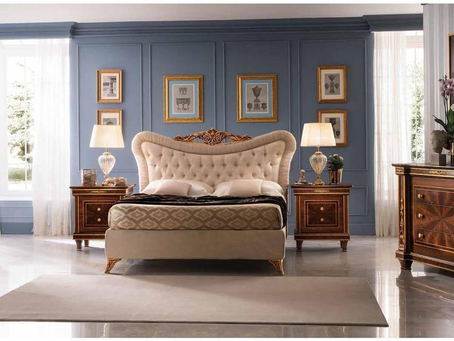 Arredo Classic: Modigliani: кровать 160х190 с мягкой спинкой (такнь)