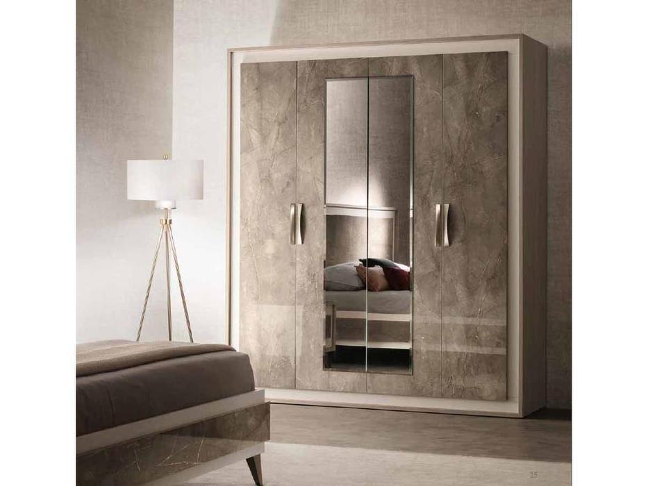 Arredo Classic: Ambra: шкаф 4 дверный (вяз светлый)