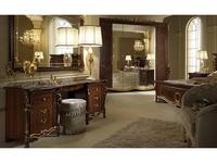 Arredo Classic: Donatello: стол туалетный (тёмный орех)