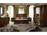 Arredo Classic: Donatello: кровать 160х190 Queen (орех)