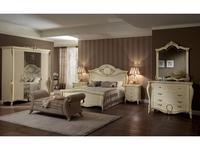 Arredo Classic: Tiziano: спальная комната (слоновая кость с золотом)
