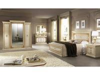 Arredo Classic: Leonardo: спальная комната 02 (крем, золото)