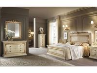 Arredo Classic: Leonardo: спальная комната 03 (крем, золото)