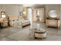 Arredo Classic: Melodia: спальня (беж, золото)