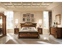 Arredo Classic: Sinfonia: спальная комната (орех, золото)
