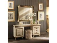 Arredo Classic: Fantasia: стол туалетный  (кремовый мраморный)