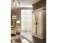 Arredo Classic: Fantasia: шкаф 3-х дверный (кремовый мраморный)