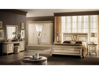 Arredo Classic: Fantasia: спальная комната с 4-х дверным шкафом (кремовый мраморный)