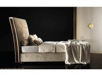 Arredo Classic: Diamante: кровать 160х200 с мягк-м каркасом кат. В (слоновая кость, вяз, золото)
