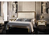 Arredo Classic: Diamante: кровать 180х200 (слоновая кость, вяз, золото)
