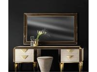 Arredo Classic: Diamante: зеркало большое (слоновая кость, вяз, золото)