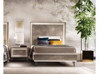 Arredo Classic: Ambra: кровать 110х190 (вяз светлый)
