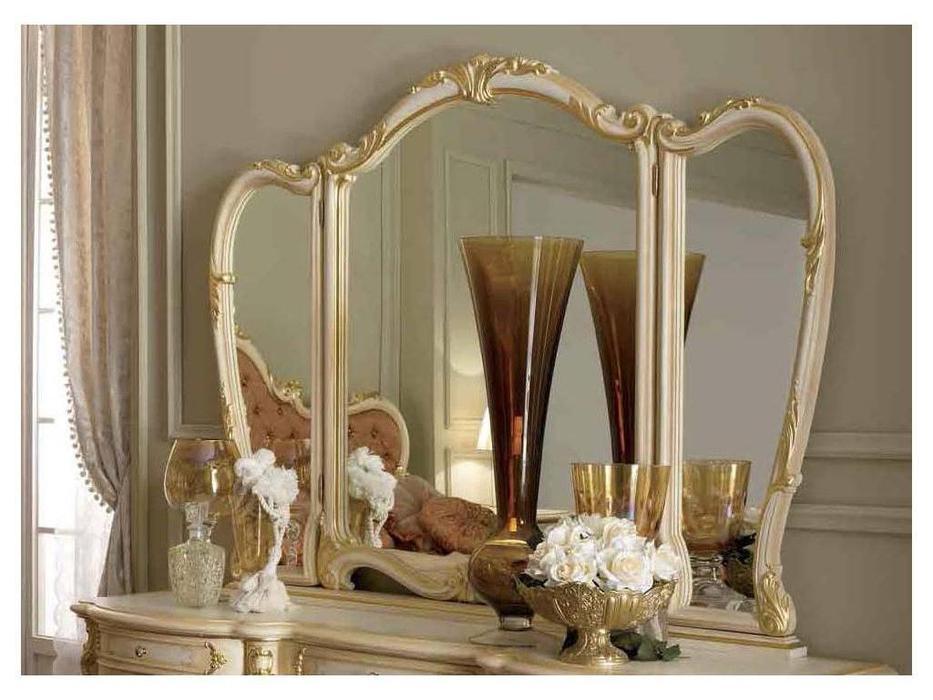 А и М Ghezzani: Роял: зеркало к туалетному столу (слоновая кость, золото)