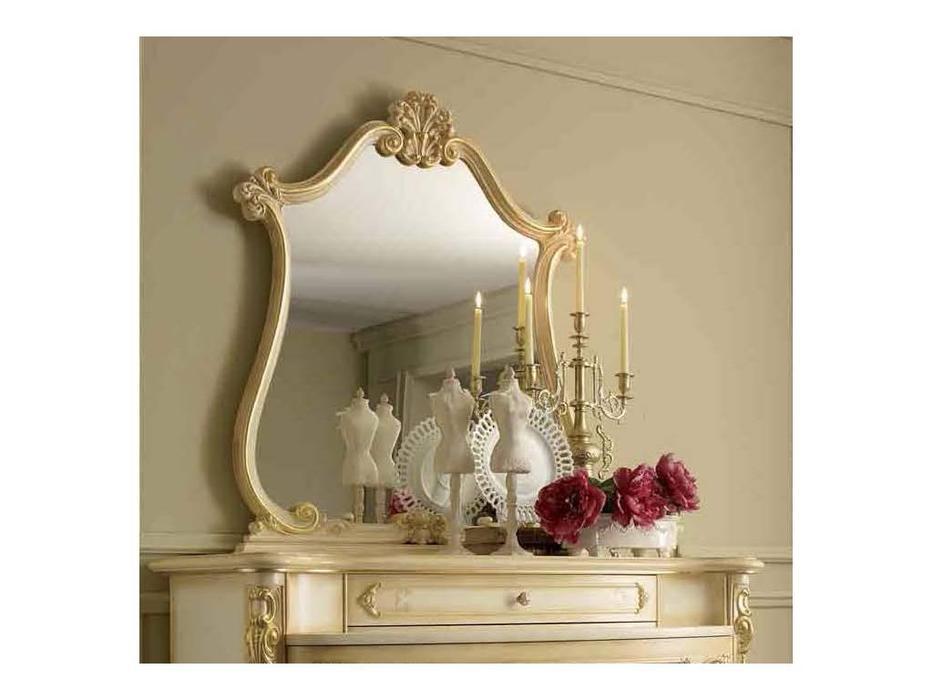 А и М Ghezzani: Роял: зеркало к комоду (слоновая кость, золото)