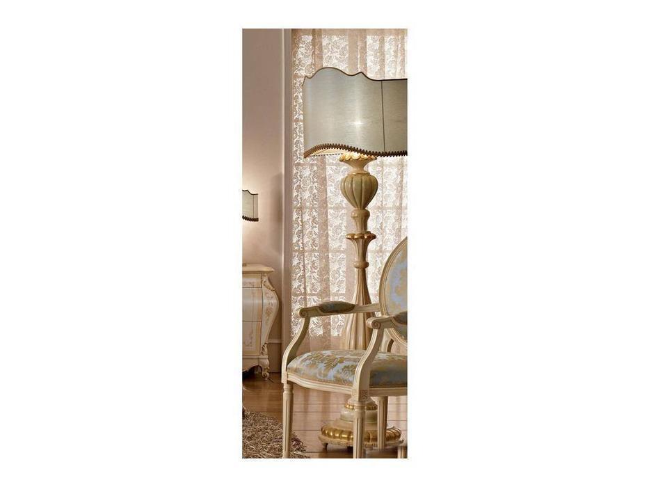 А и М Ghezzani: Редженца: лампа напольная (слоновая кость, золото)