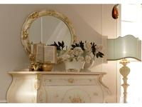 А и М Ghezzani: Редженца: зеркало для комода (слоновая кость, золото)