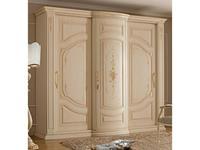 А и М Ghezzani: Редженца: шкаф-купе 3 дверный (слоновая кость, золото)