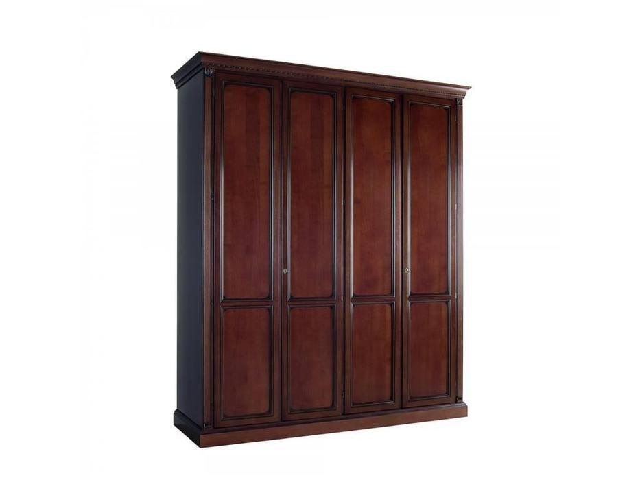 Liberty: Венеция: шкаф 4-х дверный без зеркал  (вишня)