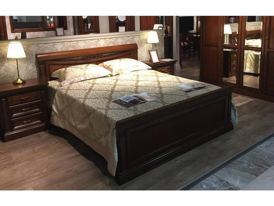 Liberty: Венеция: кровать  160х200 (вишня)
