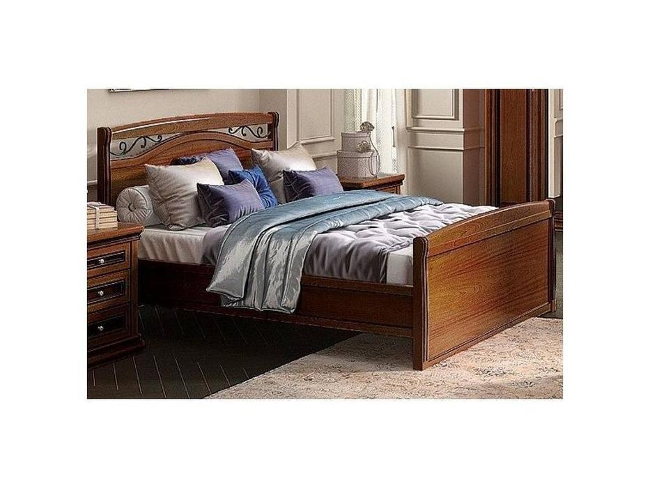 Liberty: Сильвия: кровать 160х200  (орех милано)