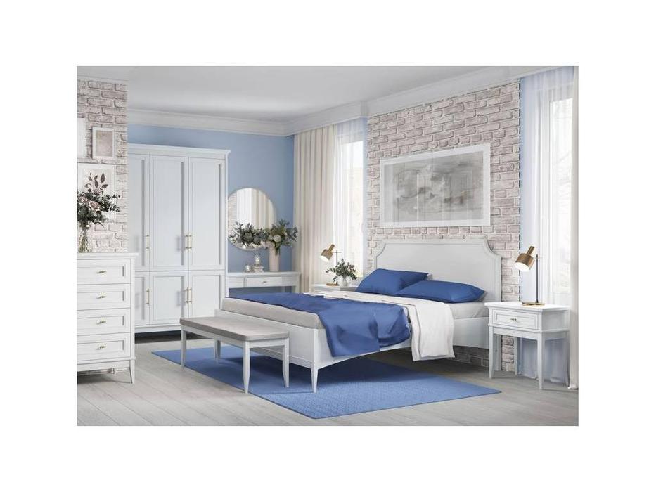 Liberty: Берген: кровать 180х200  (белый)