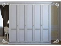 Liberty: Венеция: шкаф 5-ти дверный  (белый)