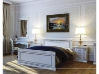 Liberty: Флоренция: кровать  160х200 (слоновая кость, золото)