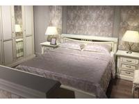 Liberty: Флоренция: кровать  160х200 с подъемным мех-ом (слоновая кость, золото)