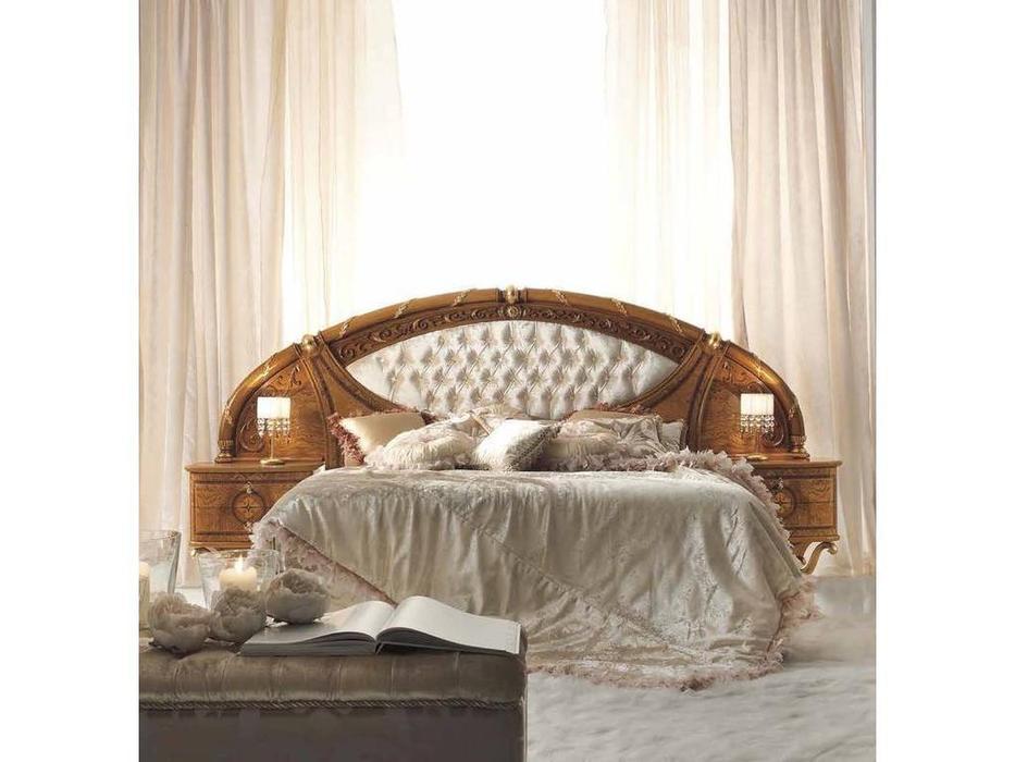 Valderamobili: Jasmine: кровать 182х202 с тумбочками  и со стразами Swarovski (клен)