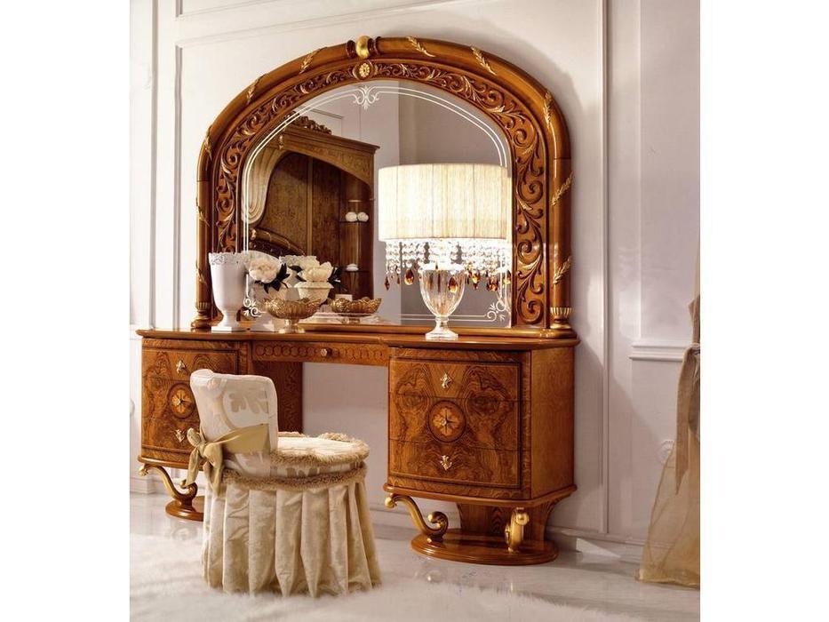 Valderamobili: Jasmine: стол туалетный с зеркалом  (клен)