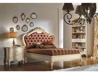Valderamobili: Principe: кровать 122х195  (Laccato)