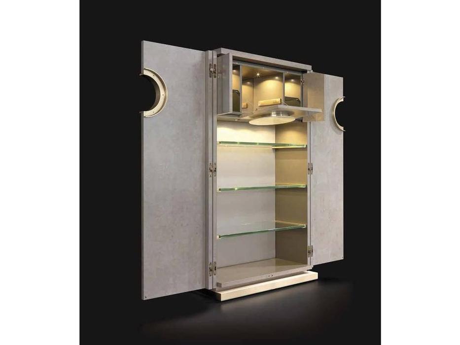 Mobil fresno: Iland: витрина-бар  (орех/лак)