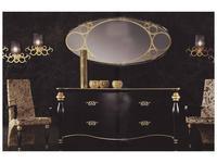 Mobil fresno: Venus: комод 4 ящика  (roble decorado 2)