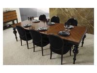 Mobil fresno: Savoy: стол обеденный раскладной 193/239  (zebrano )