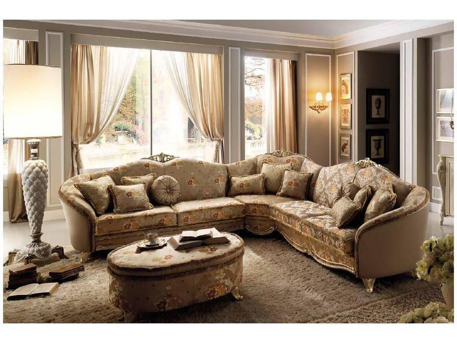 Arredo Classic: Tiziano: диван угловой ткань cat. В