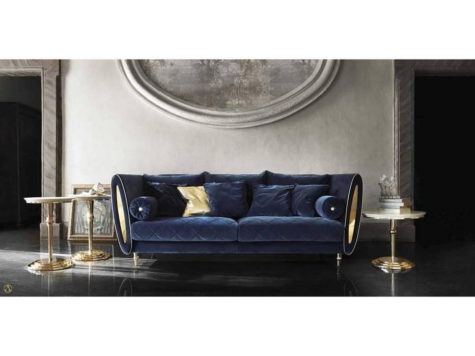 Arredo Classic: Sipario: диван 3-х местный ткань кат. E (синий)