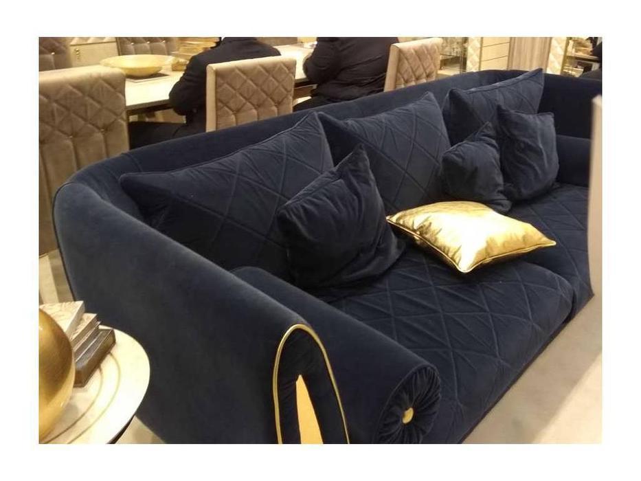Arredo Classic: Sipario: диван 2-х местный ткань кат. E (синий)