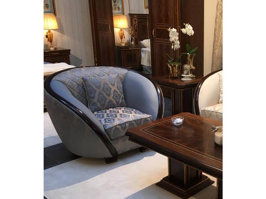 Arredo Classic: Modigliani: кресло кат В с простежкой (ткань)