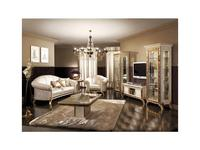 Arredo Classic: Raffaello: диван 3-х местный ткань кат. А