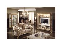 Arredo Classic: Raffaello: диван 2-х местный кожа кат. C/G