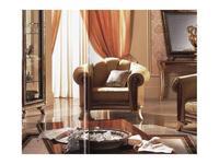 Arredo Classic: Giotto: кресло Джотто ткань кат. B (орех)