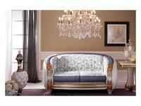 Arredo Classic: Liberty: диван 2-х местный ткань кат. А (слоновая кость)