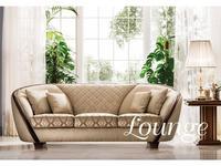 Arredo Classic: Modigliani: диван 3 местный кат В с простежкой (ткань)