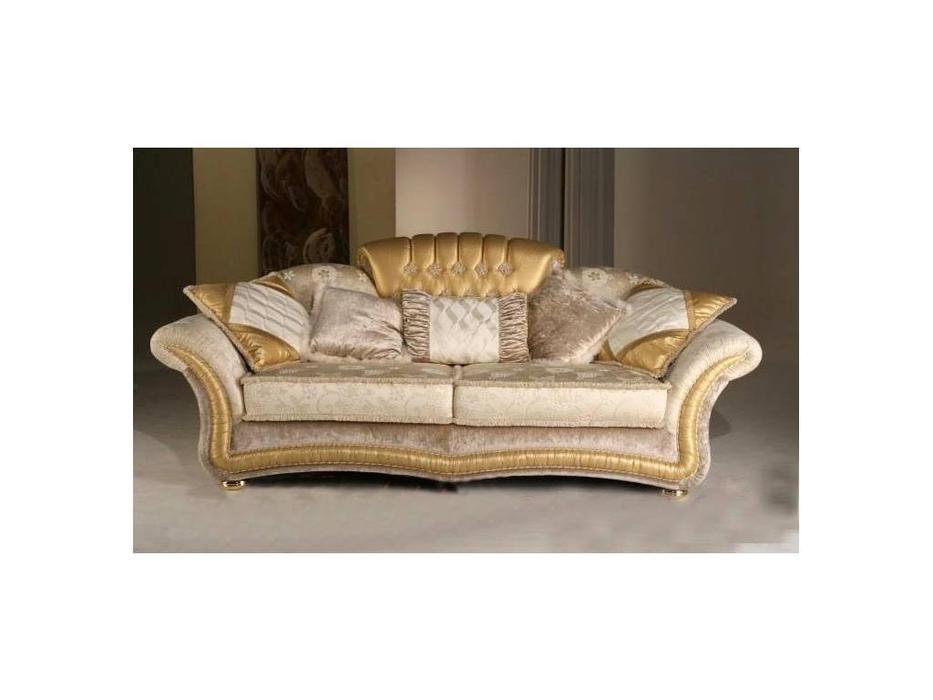 Poltromot: Hermitage: диван 3-х местный ткань