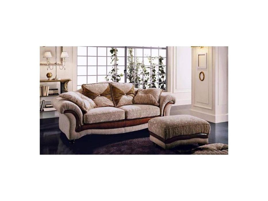 Poltromot: Tulipano: диван 3-х местный ткань