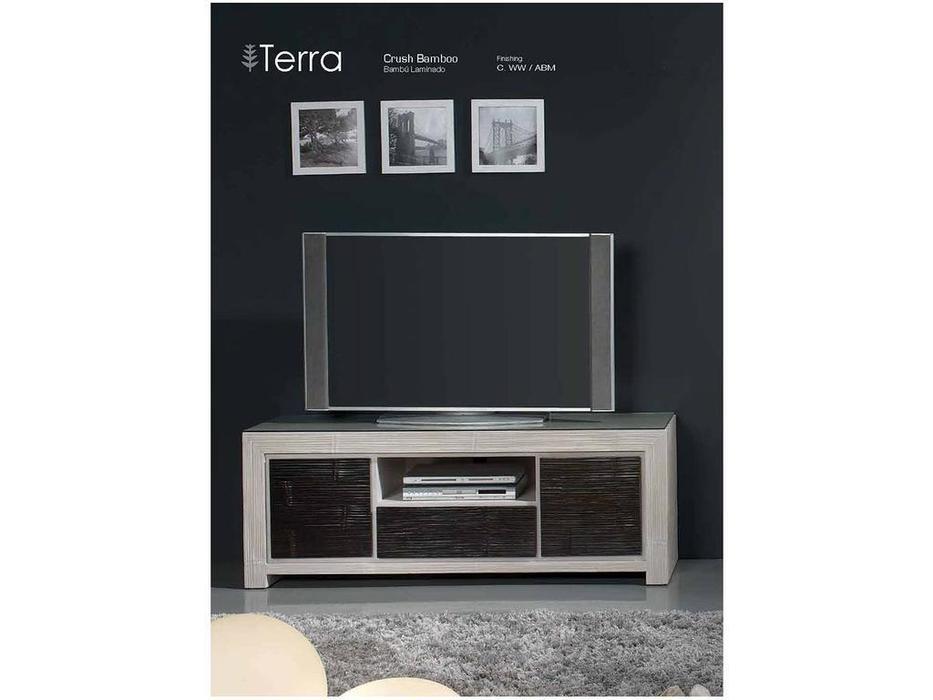 Joenfa: Terra: тумба под телевизор  (crush bamboo)