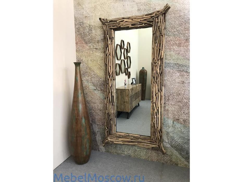 Joenfa: Naga white: зеркало  (natural wood)