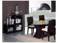 Joenfa: Africa: стол обеденный овальный  (crush bamboo)