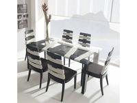 Joenfa: Cross: стол обеденный  (crush bamboo)